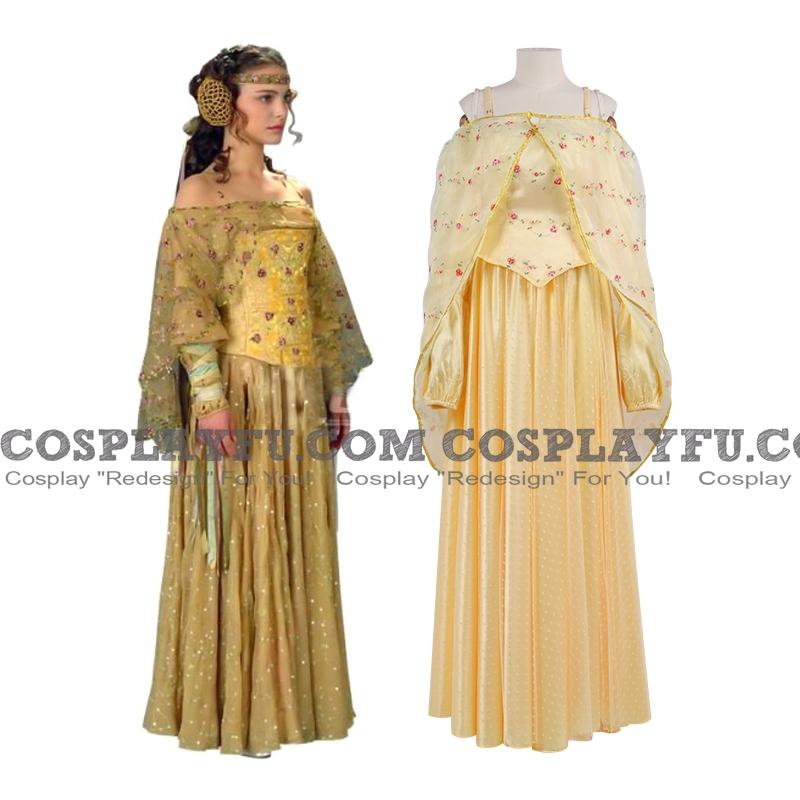 Guerre stellari Padme Amidala Costume (Picnic Gown)