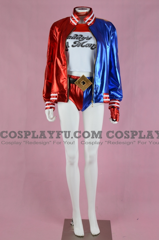 Harley Quinn Cosplay Costume (Suicide Squad) from Batman