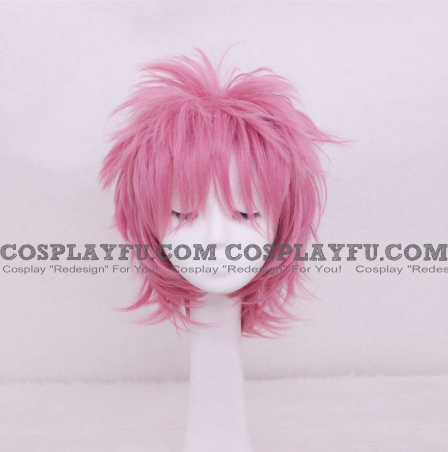 フェアリーテイル ナツ・ドラグニル ウィッグ (Short Pink)