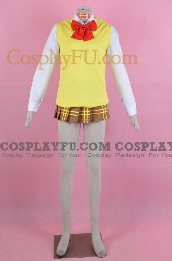 Kurumu Cosplay Costume (Uniform) from Rosario Vampire