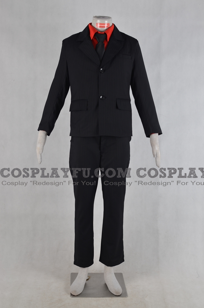 Soul Cosplay Costume (Black) from Soul Eater