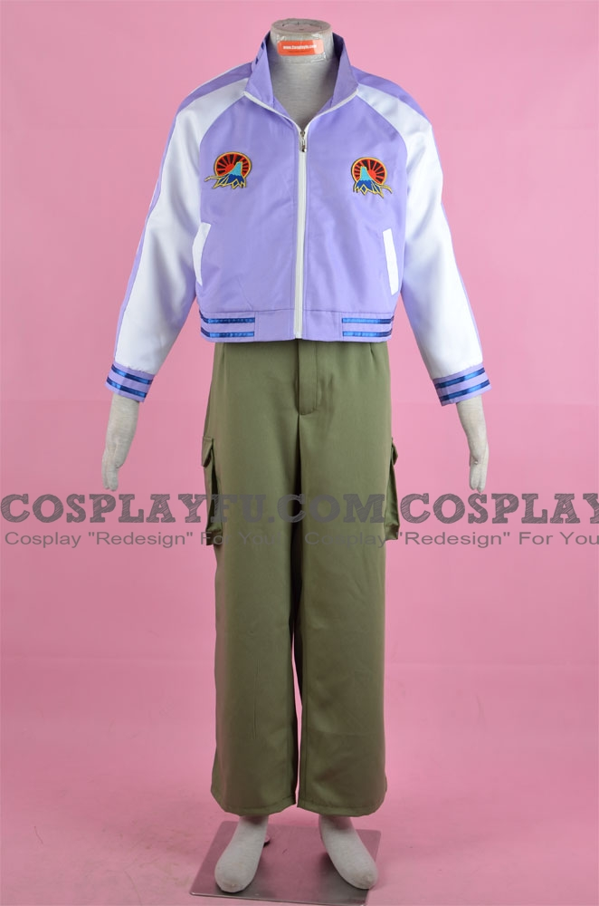 Origami Cosplay Costume from Tiger and Bunny