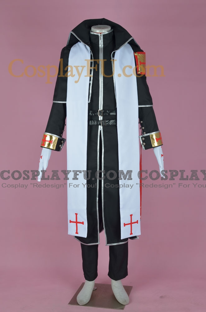 Abel Cosplay Costume from Trinity Blood