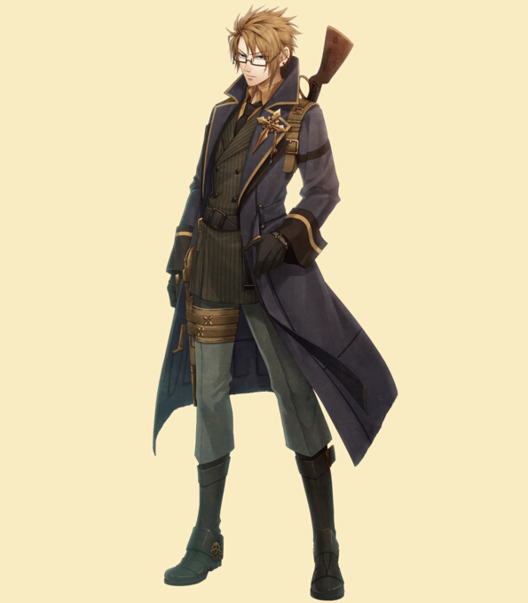 Abraham Cosplay Costume from Code Realize