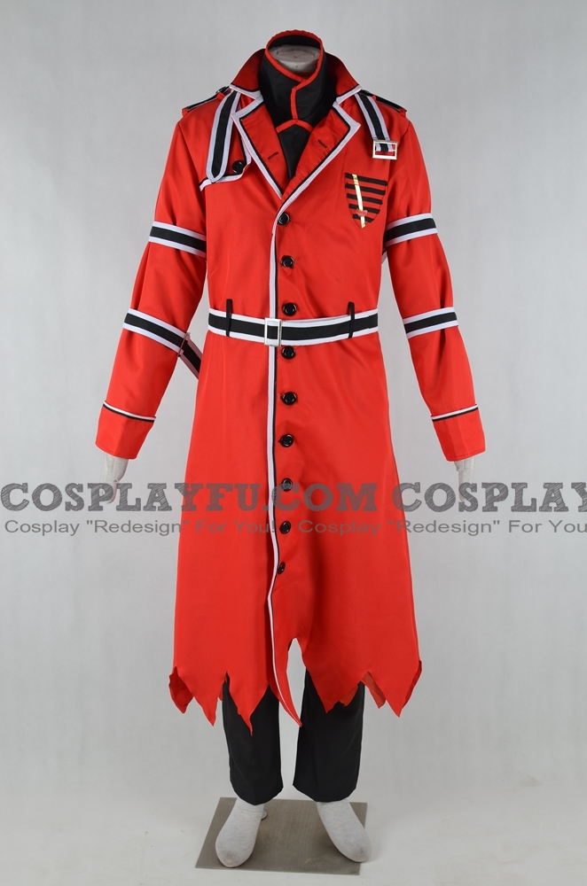 Ace Cosplay Costume from Alice in the Country of Hearts