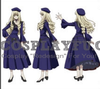Adilicia Cosplay Costume from Rental Magica