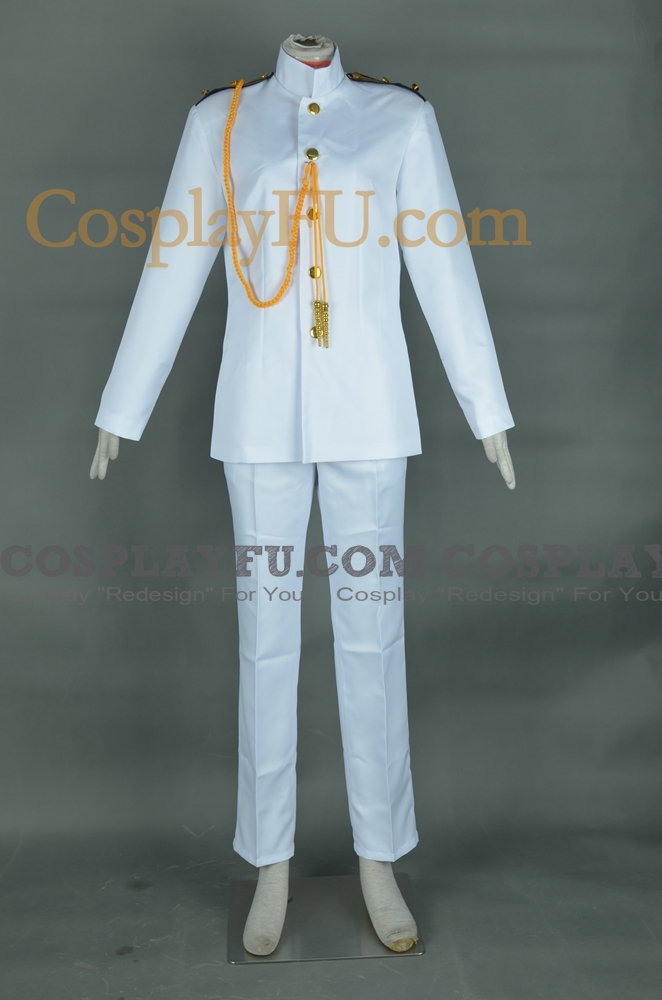Admiral Cosplay Costume (Female) from Kantai Collection