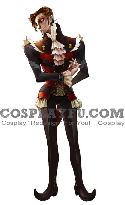 Advocat Cosplay Costume from Grim Grimoire