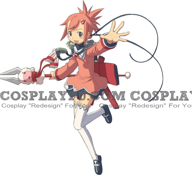 Aera Cosplay Costume from Summon Night Swordcraft Story 2