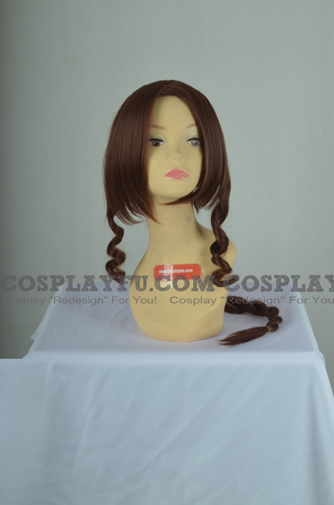 Aerith Wig from Final Fantasy
