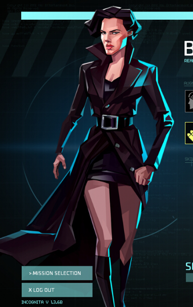 Agent Banks Cosplay Costume from Invisible Inc