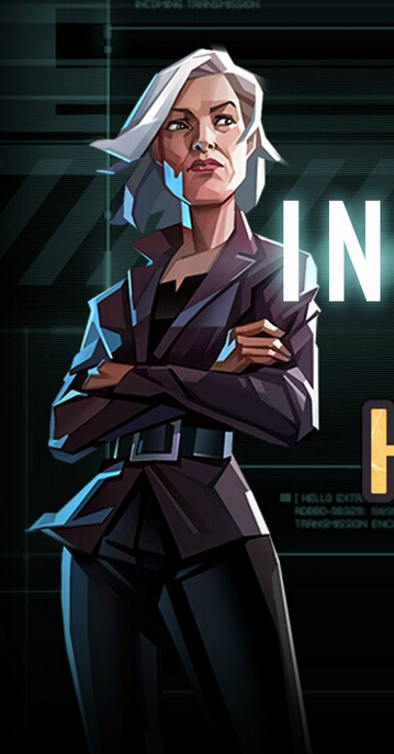 Agent Central Cosplay Costume from Invisible Inc