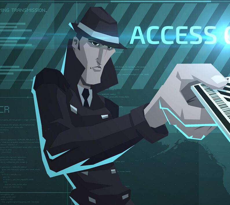 Invisible, Inc. Agent Decker Disfraz