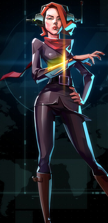 Agent Internationale Cosplay Costume from Invisible Inc