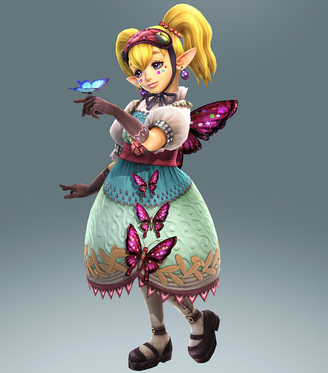 Agitha Cosplay Costume from Hyrule Warriors