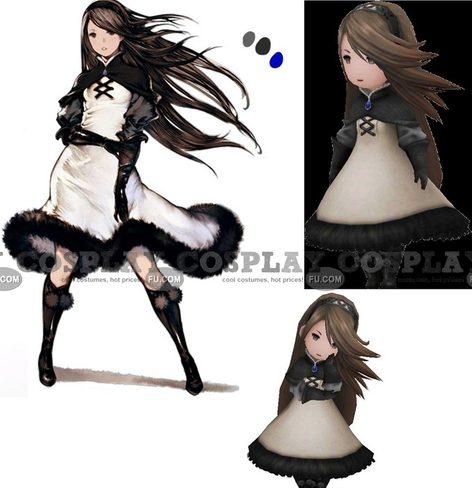 Agnes Shoes from Bravely Default