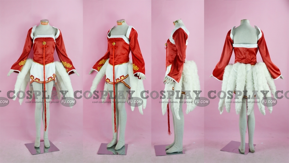 Ahri Cosplay Costume (with Tails) from League of Legends