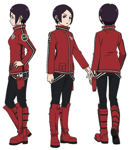 Ai Cosplay Costume from World Trigger