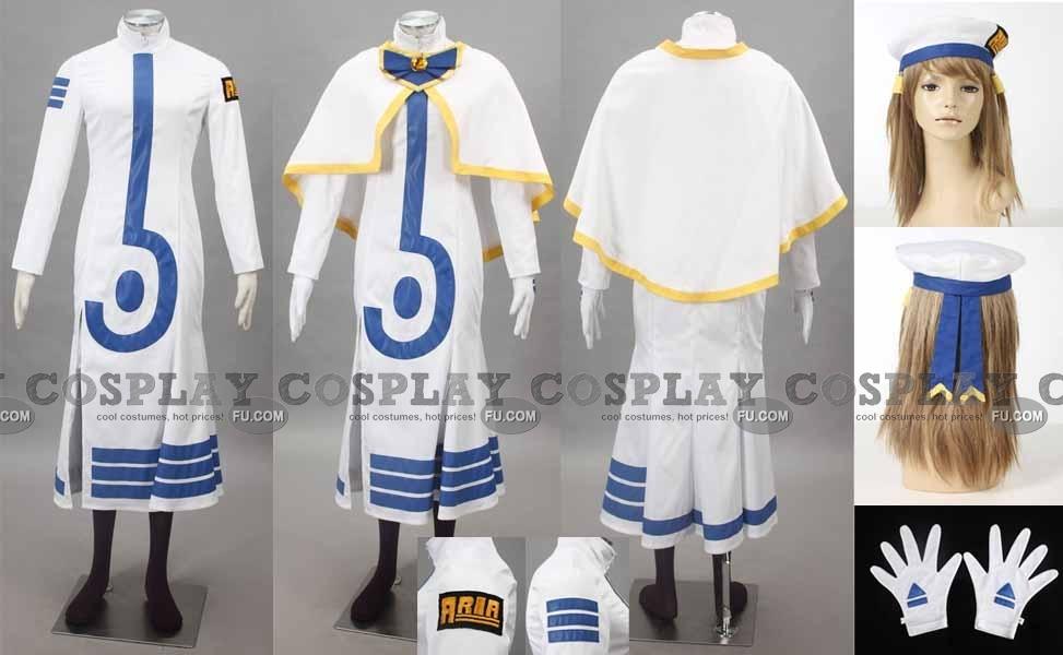 Akari Cosplay Costume (Winter 100-C02) from ARIA