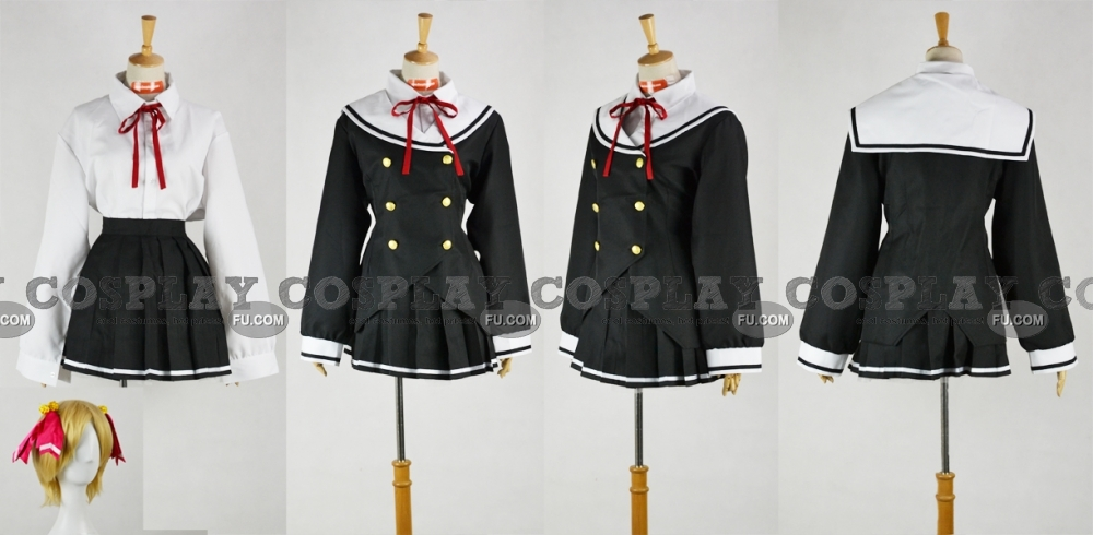 Akiko Cosplay Costume from Oniichan dakedo Ai sae Areba Kankeinai yo ne!