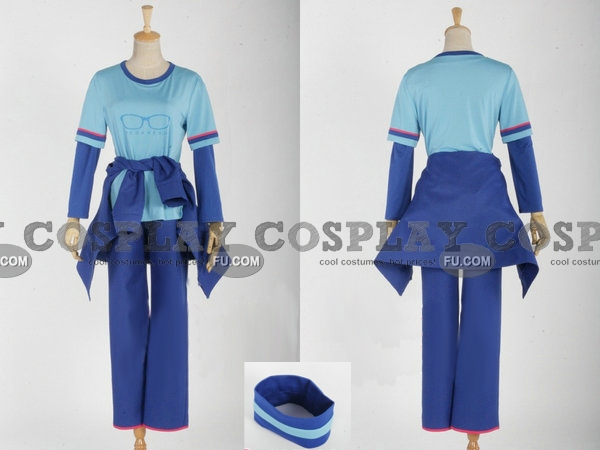 Akira Cosplay Costume from Meganebu