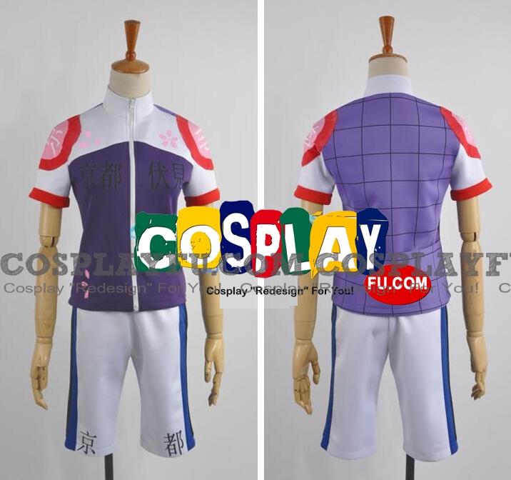 Akira Cosplay Costume from Yowamushi Pedal