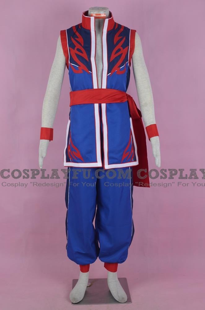 Akira Yuki Cosplay Costume from Project X Zone 2 Brave New World