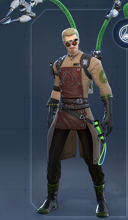 Alchemist Male Cosplay Costume from Skyforge