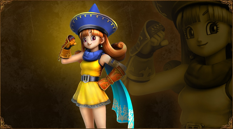 Alena Cosplay Costume from Dragon Quest Heroes