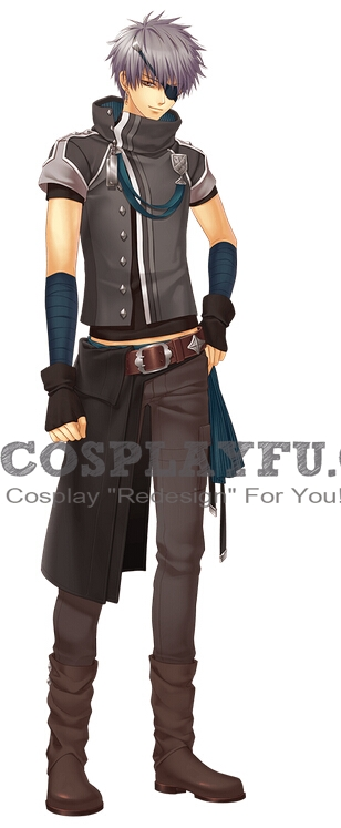 Alfred Cosplay Costume from Moujuutsukai To Oujisama
