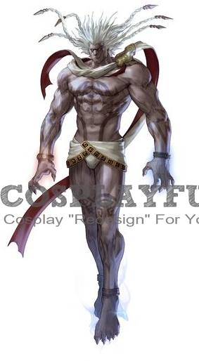 Algol Cosplay Costume from Soulcalibur