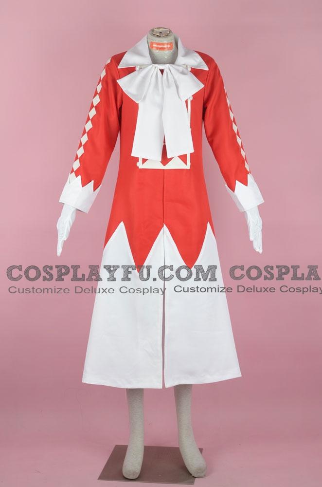 Pandora Hearts Alice Disfraz (Rojo)