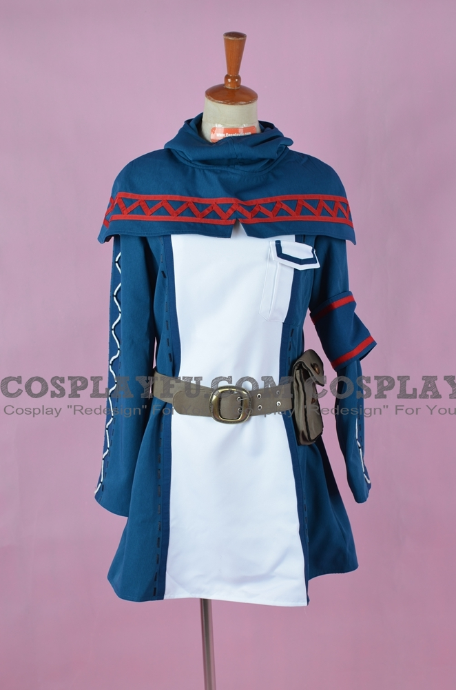 Alicia Cosplay Costume from Valkyria Chronicles