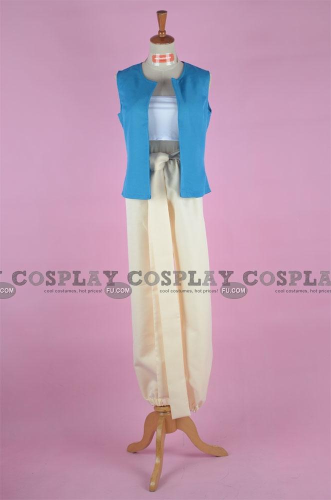 Alladdin Cosplay Costume from Magi