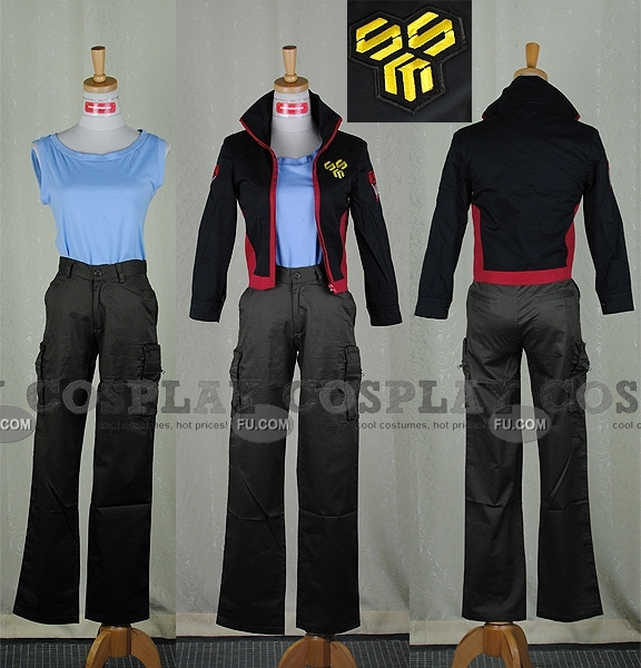 Macross Frontier Alto Saotome Costume (SMS 24-C06 Customize)