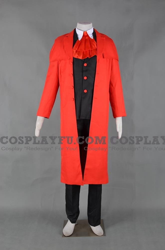 Hellsing Alucard Kostüme