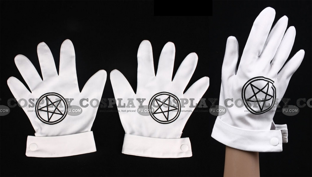 Alucard Gloves (2nd, ST42) from Hellsing