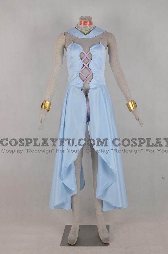 Aluminum Siren Cosplay Costume from Sailor Moon