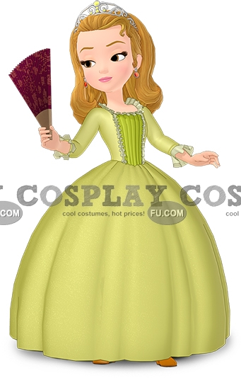 Sofia the First Princess Amber Costume