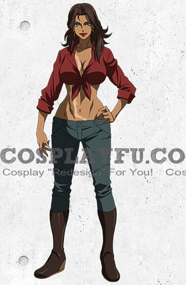 Amida Cosplay Costume from Mobile Suit Gundam Iron Blooded Orphans