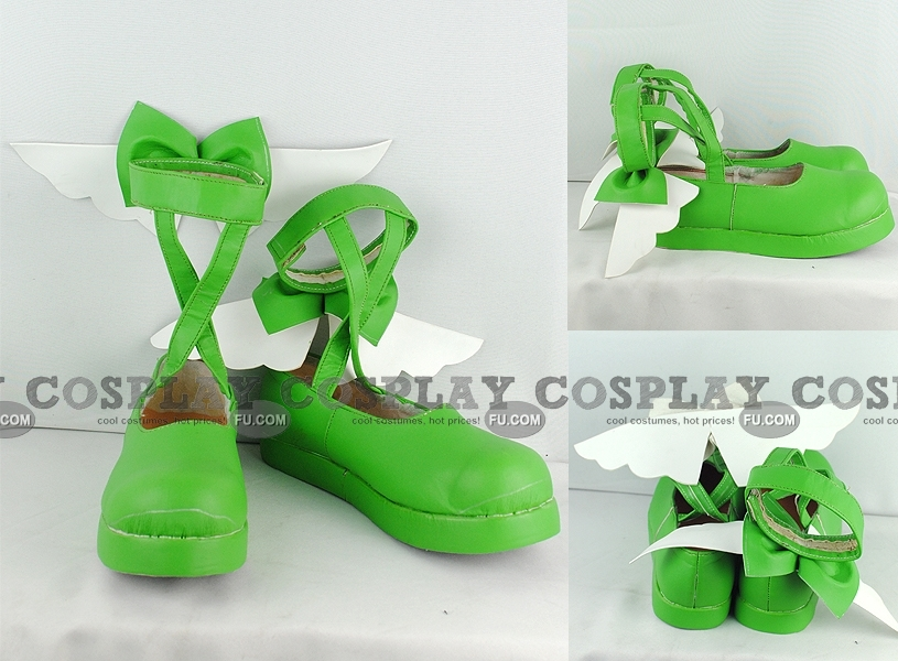 Amu Shoes (Green) from Shugo Chara