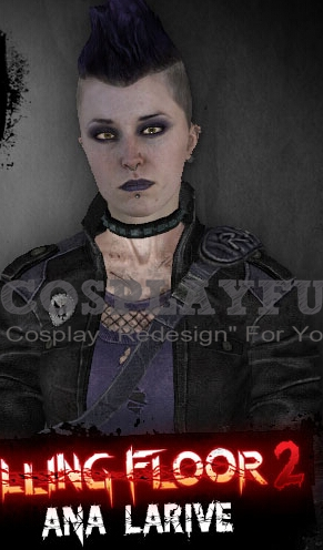 Ana Larive Cosplay Costume from Killing Floor 2