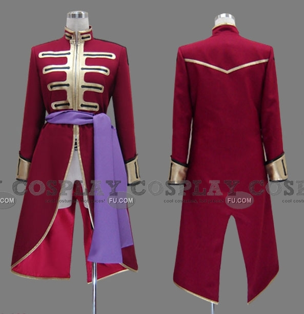Andreas Cosplay Costume from Code Geass