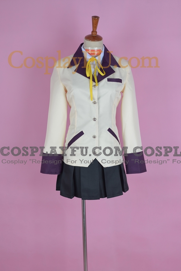 Angel Cosplay Costume from Angel Beats