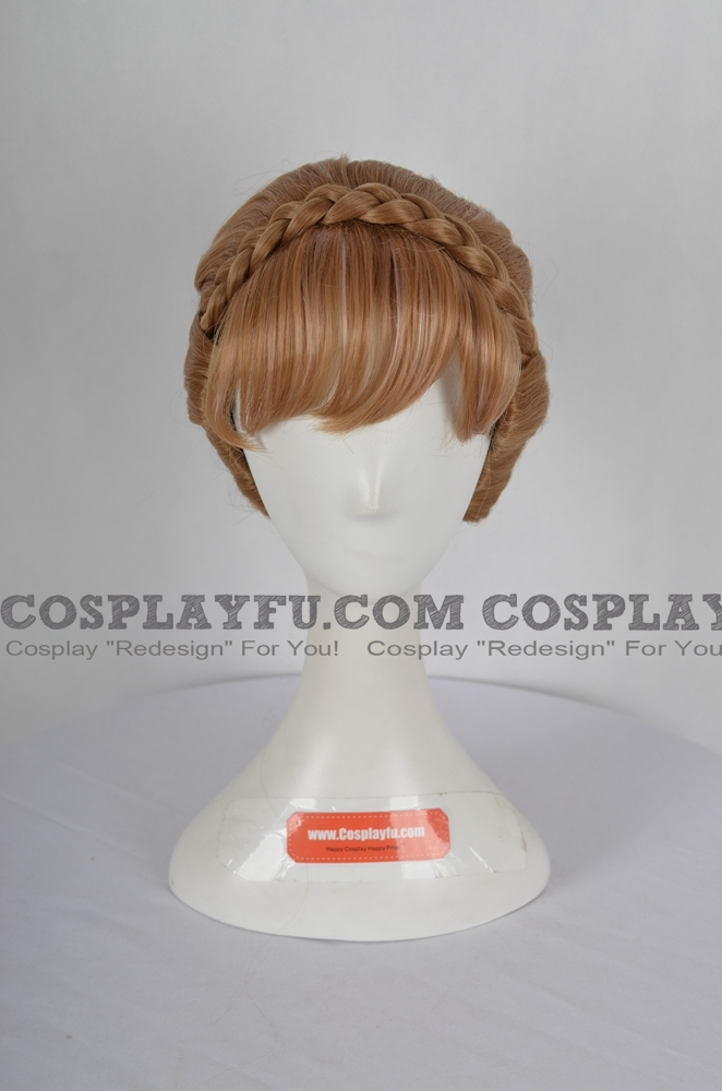 Anna Wig (2nd) from Frozen