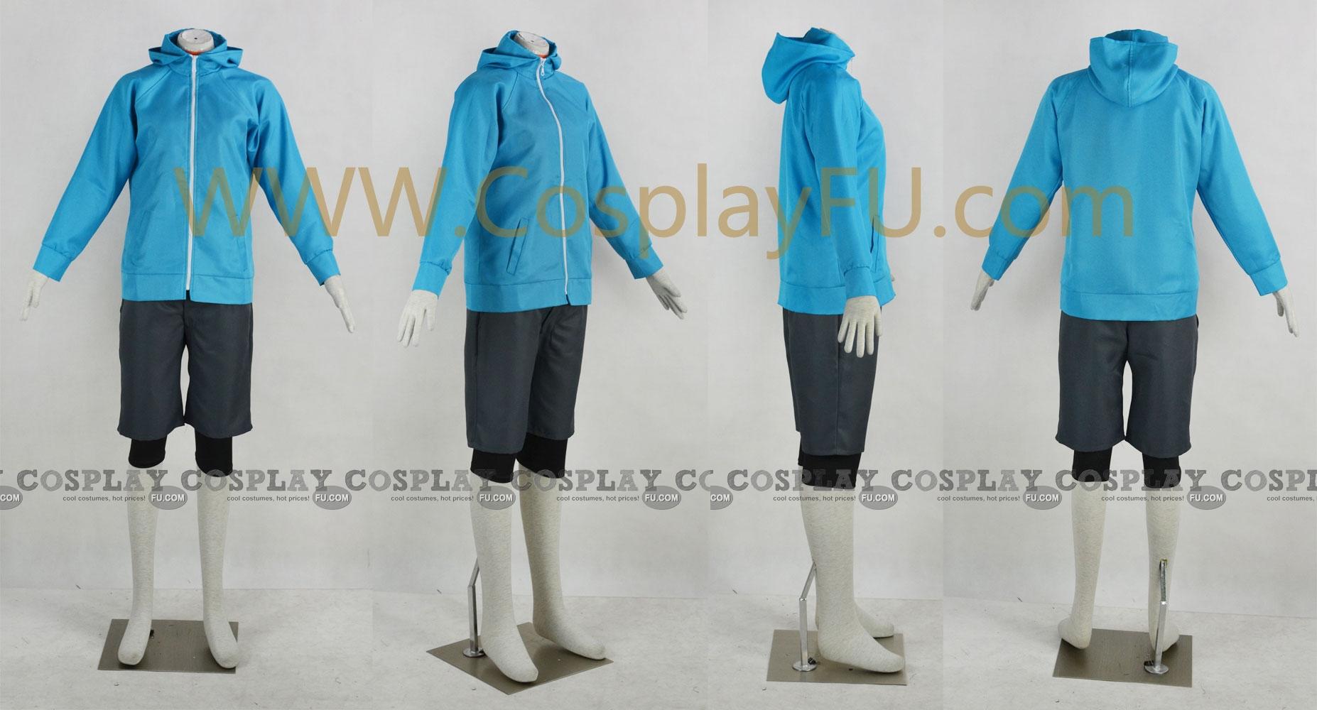 Ao Cosplay Costume from Eureka Seven AO