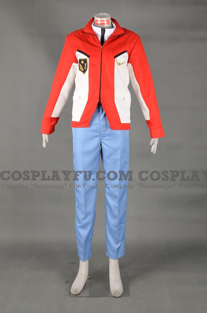 Aoba Cosplay Costume from Buddy Complex