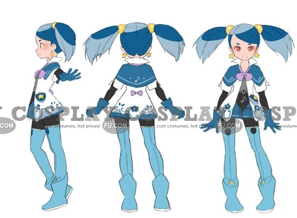 Aoi Cosplay Costume from Minarai Diva