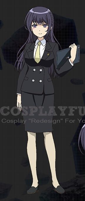 Aoi Cosplay Costume from Regalia The Three Sacred Stars