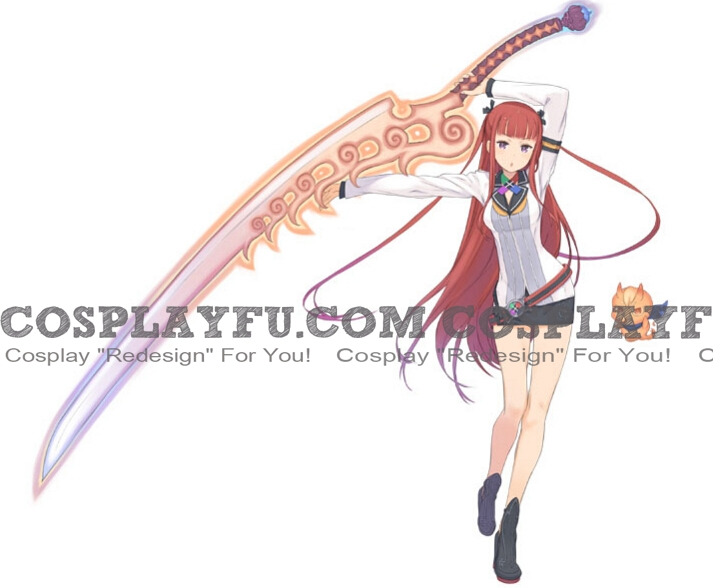Arca Cosplay Costume from Summon Night 5